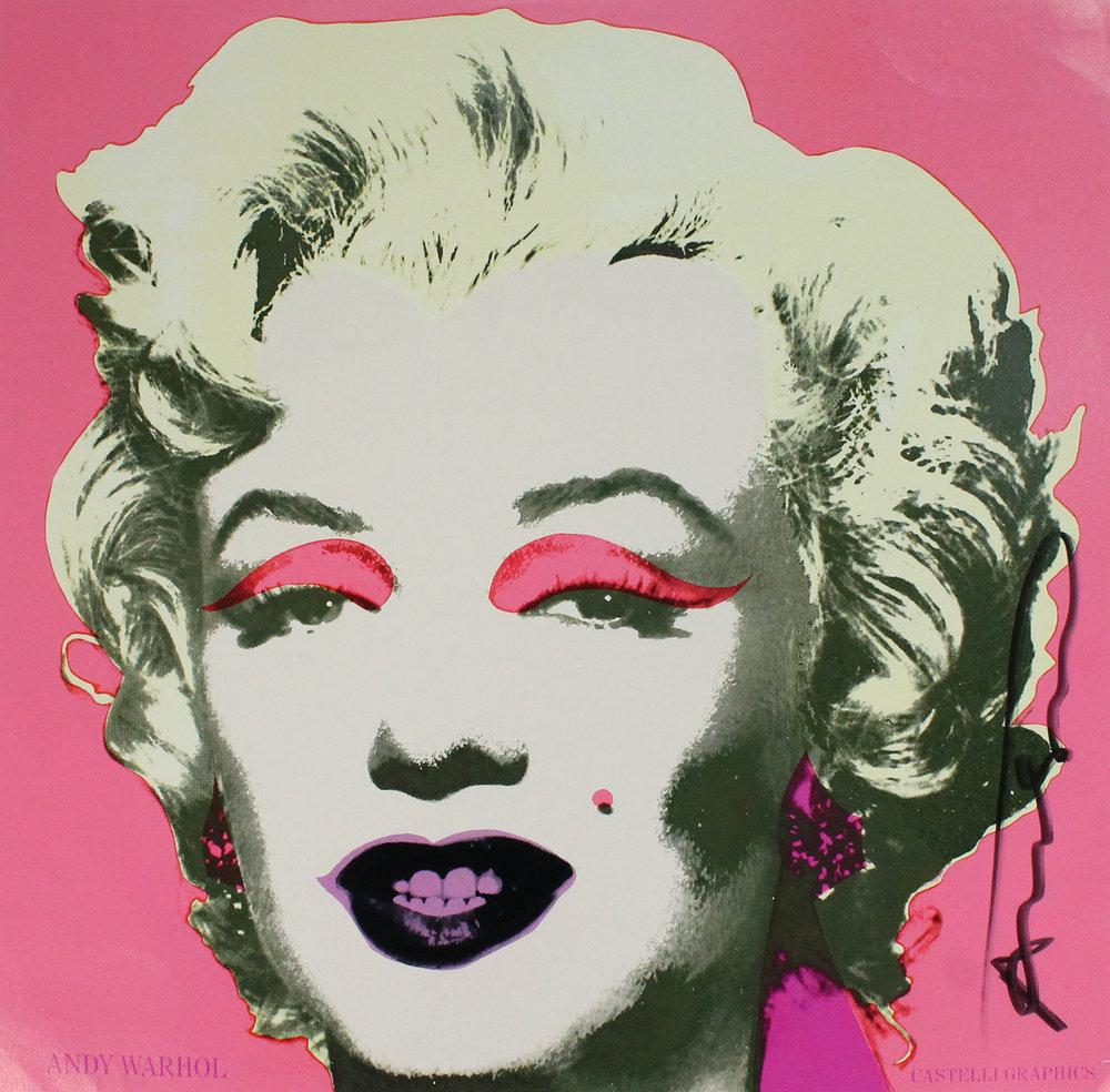 Warhol, Marilyn Monroe, 1981