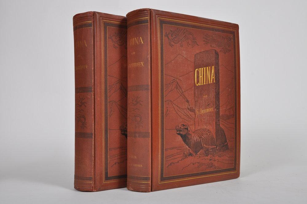 Richthofen, China. Ergebnisse eigener Reisen... 1877-1882