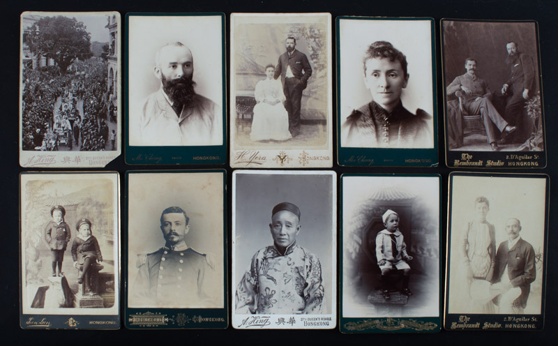 Hong Kong cabinet cards