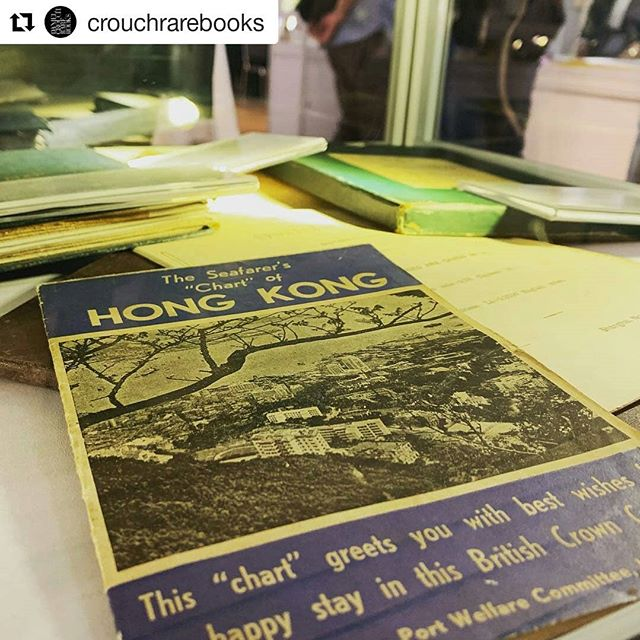 Find Daniel Crouch at booth 26 - he has brought rare books and maps all the way from London, all you have to do is get to @hongkongmaritimemuseum at Pier 8 @crouchrarebooks ・・・ We are in #HK exhibiting at @chinainprint, we will be here over the weekend (Sat 12-7pm, Sun 12-4pm), come and say hi! _ #hongkong #hongkongmaritimemuseum #centralpier8 #chinainprint #bookfair #antique #raremaps #rarebooks #maps #prints