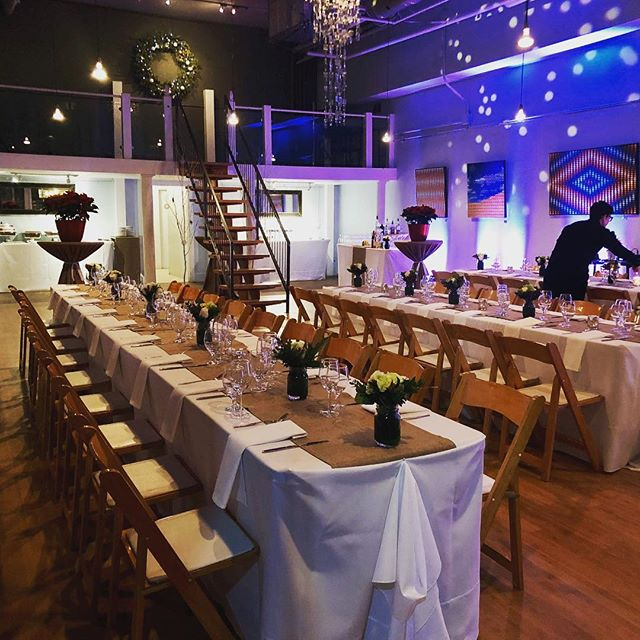 Throwback #latergram to Friday night's magical dinner with @provisionsto! #weenenconstruction #torontovenue #torontoevents #torontonightlife