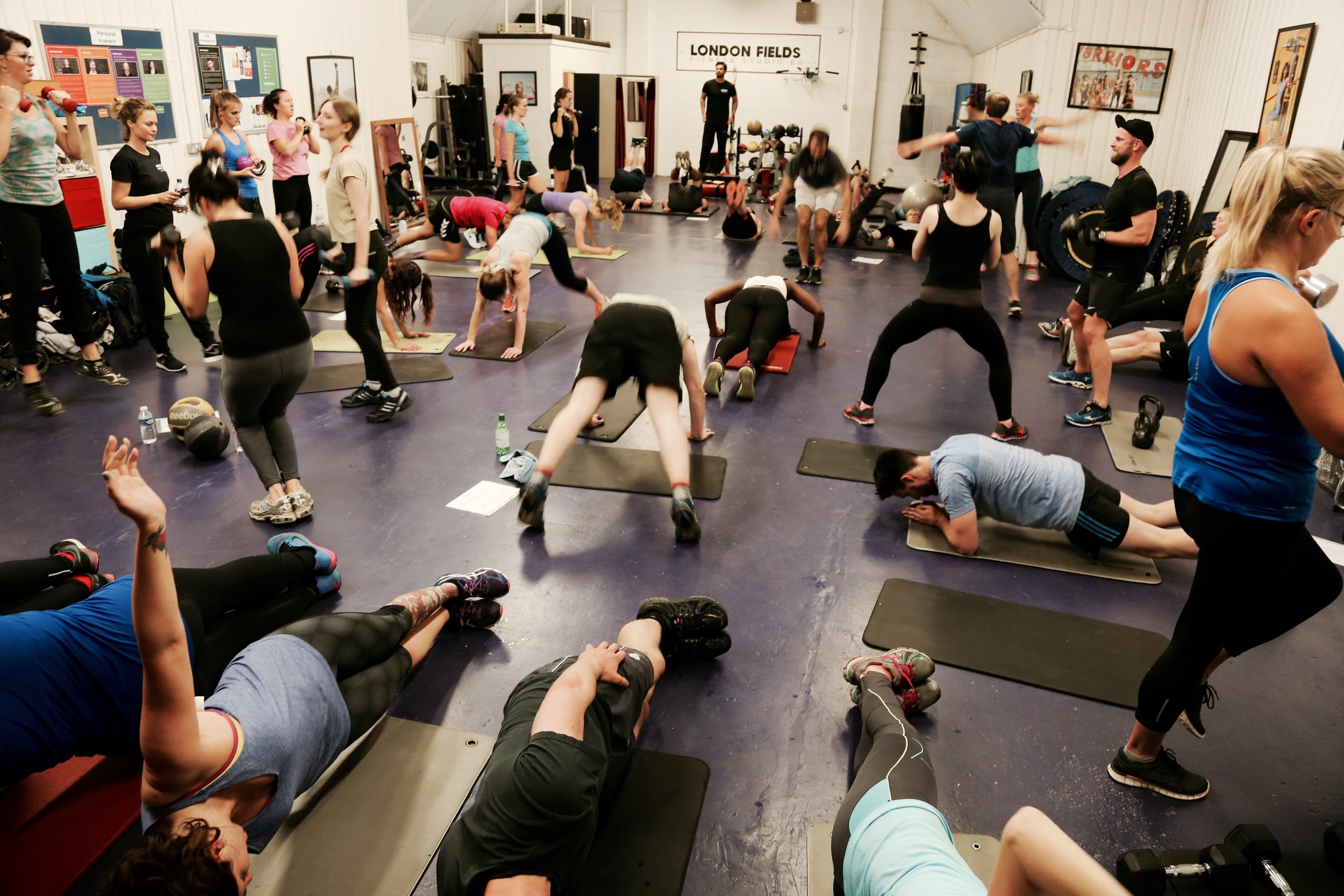 London Fields Fitness Studio Circuit Training Programs Best Exercises Home Just About The Friendliest Workout