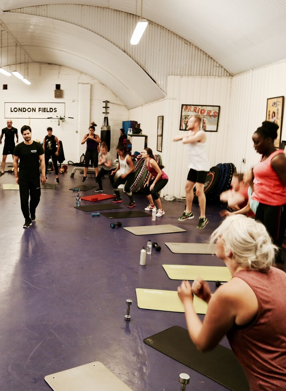 Warriors - Warriors come out to play! Based on the rigorous training a boxer would go through leading up to a big match, this Rocky-esque class is not for the faint hearted! An excellent body conditioning class with high intensity intervals of cardio work. Our London Fields Warriors bring their A Game and like to be challenged.  Tuesdays 8pm w/Sapan (60 mins) £5 drop-in, included in the Class PassLevel: All levels are welcome, just be prepared for a hard workout and you will be surprised at what you can do!