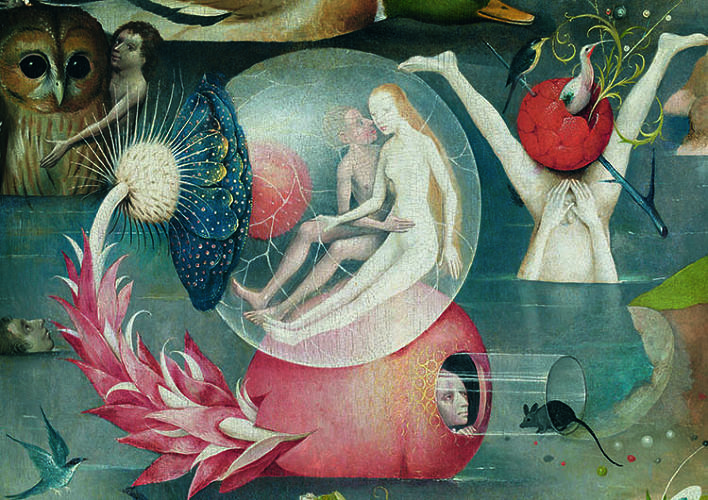 Garden of Earthly Delights, detail.