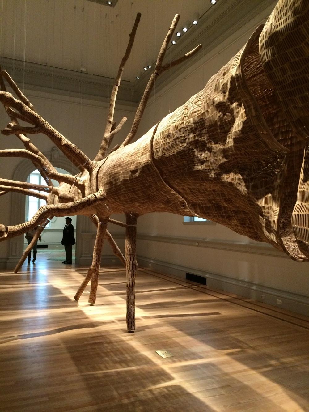 Wonder Exhibit at the Renwick, Tree by John Grade