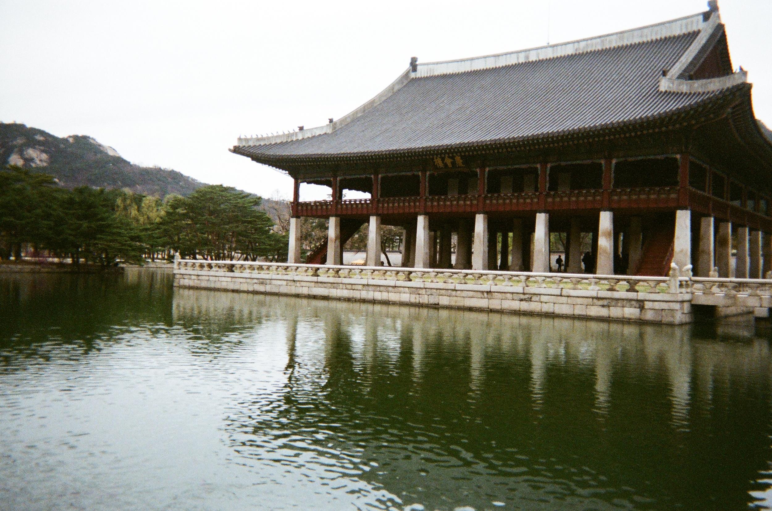 gyeongbokgung pavillion