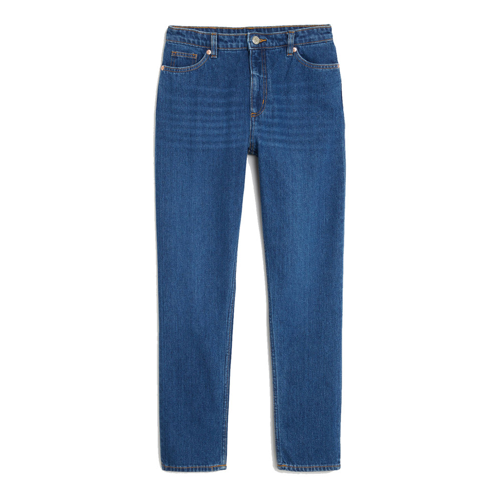 Kimomo Classic Jeans in Country Blue, £40, Monki