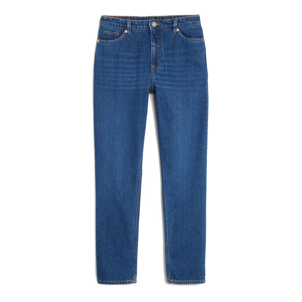 Kimomo Classic Jeans in Country Blue, £40, Monki