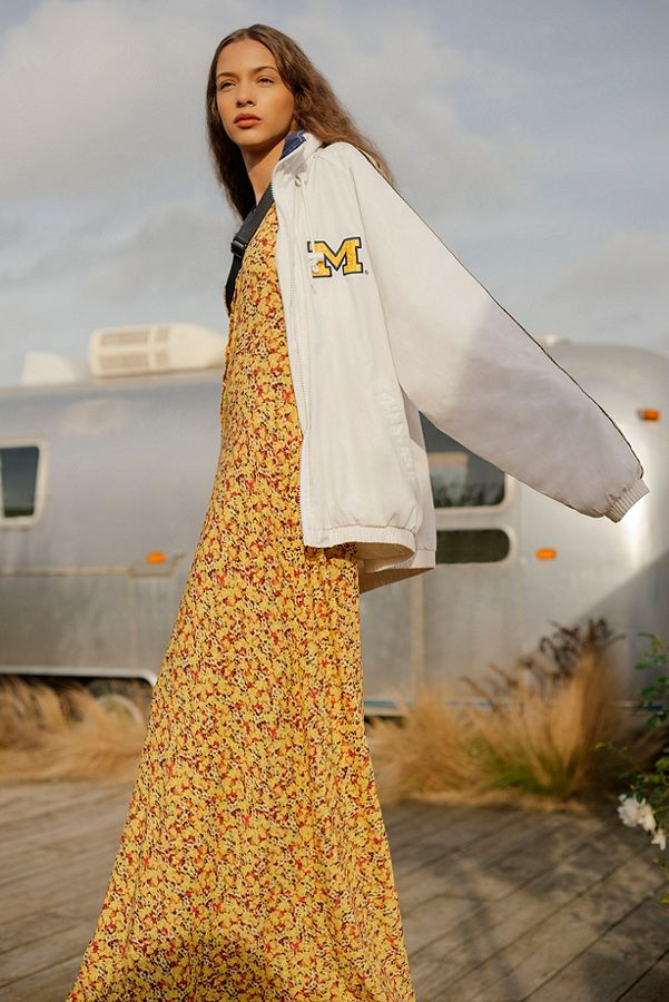 UO Ditsy Daffodill Dress - £59, Urban OutfittersI have an Urban Outfitters problem and this charming yellow and red maxi is not helping matters. I love the laid back way it's been styled on the site with trainers and a lazy jacket and to be honest, I'd probably take a similar route.Give me a pair of clean white sneakers, a baseball cap, a slouchy charity shop coat, orange-red lipstick and we're onto a winner here.