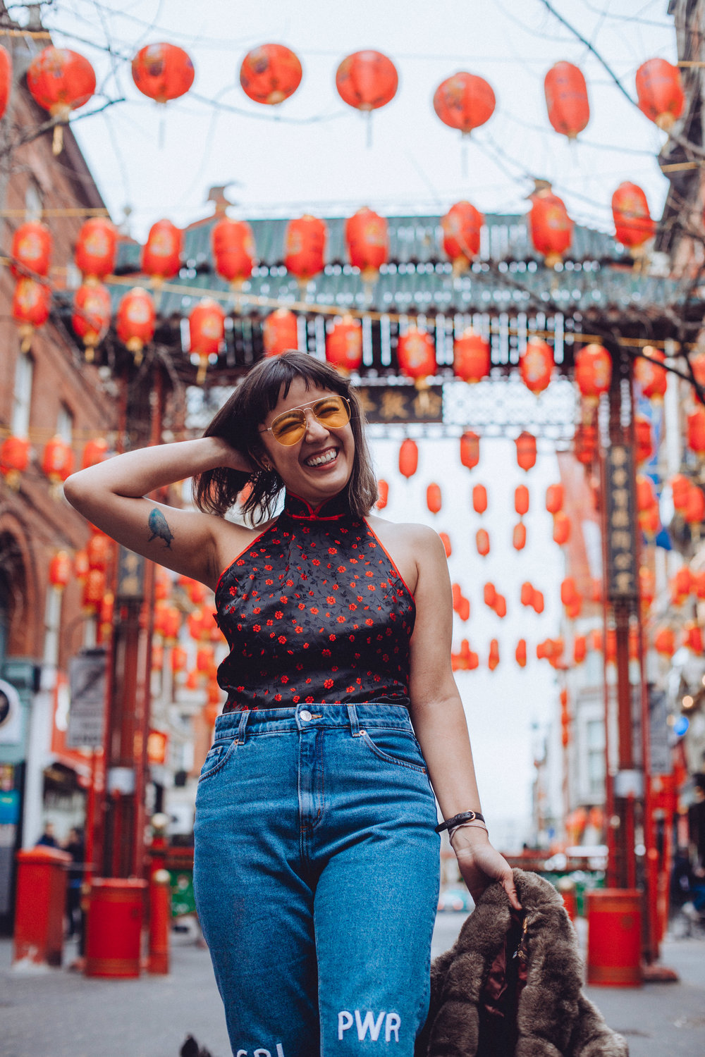 Want more Chinese New Year inspiration? - Check out my last Chinese New Year outfitpost, where I dodged tourists and froze to death in a backless qipao.
