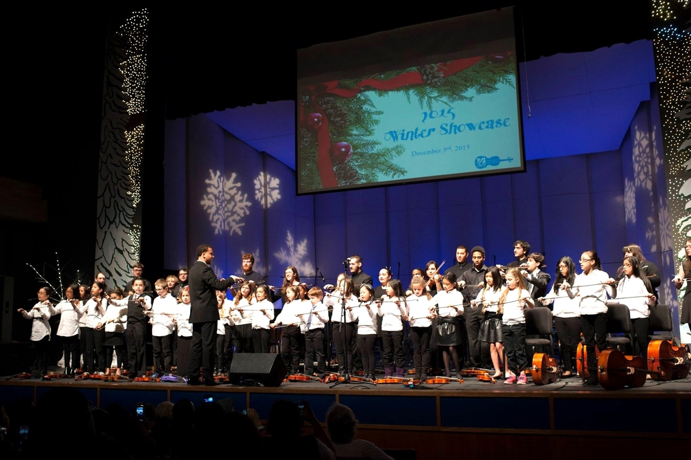 UMass Lowell String Project, image courtesy of Tory Germann Photography