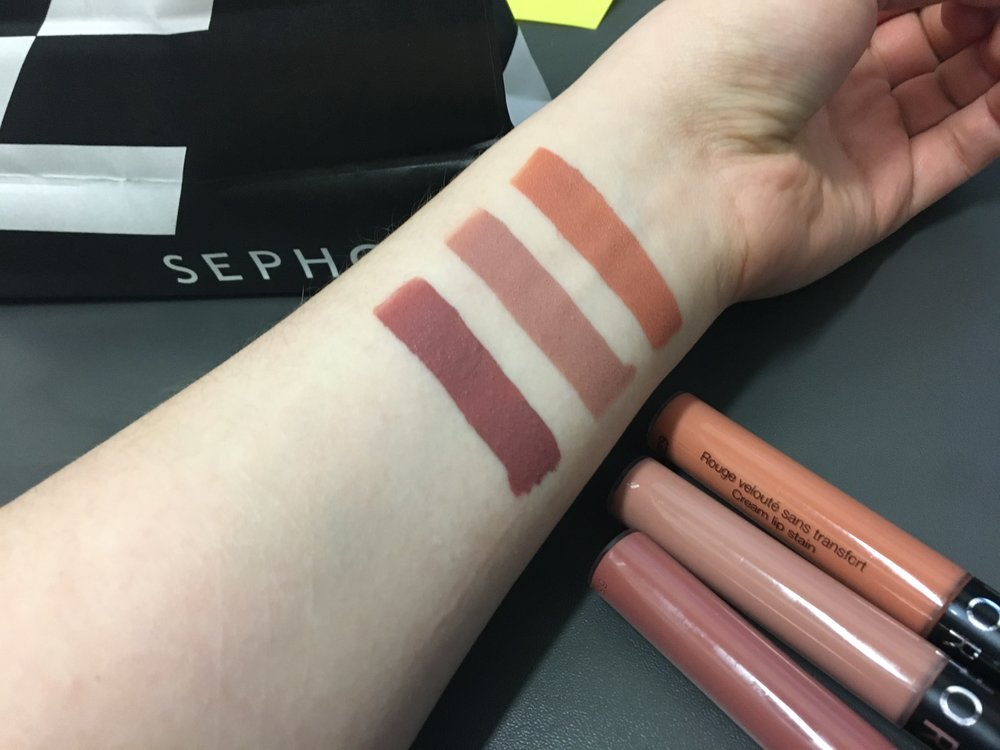 sephora cream lip stain review swatches it s tokki