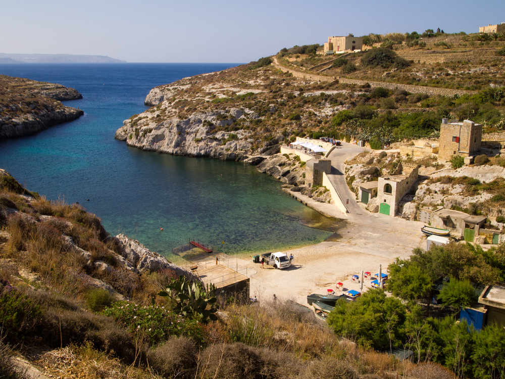 1. Mgarr Ix-Xini (Fish Specialty Beach Grill), Gozo