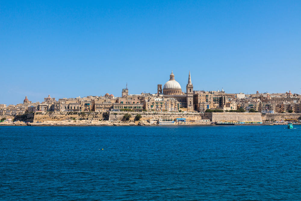 7. Grand Harbour, Valletta