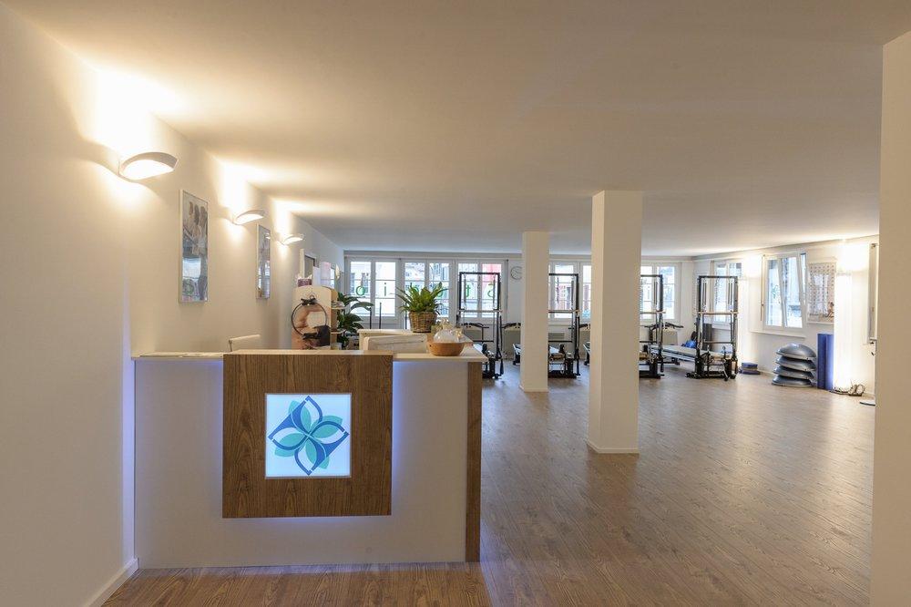 Empfang Pilates Studio Luzern