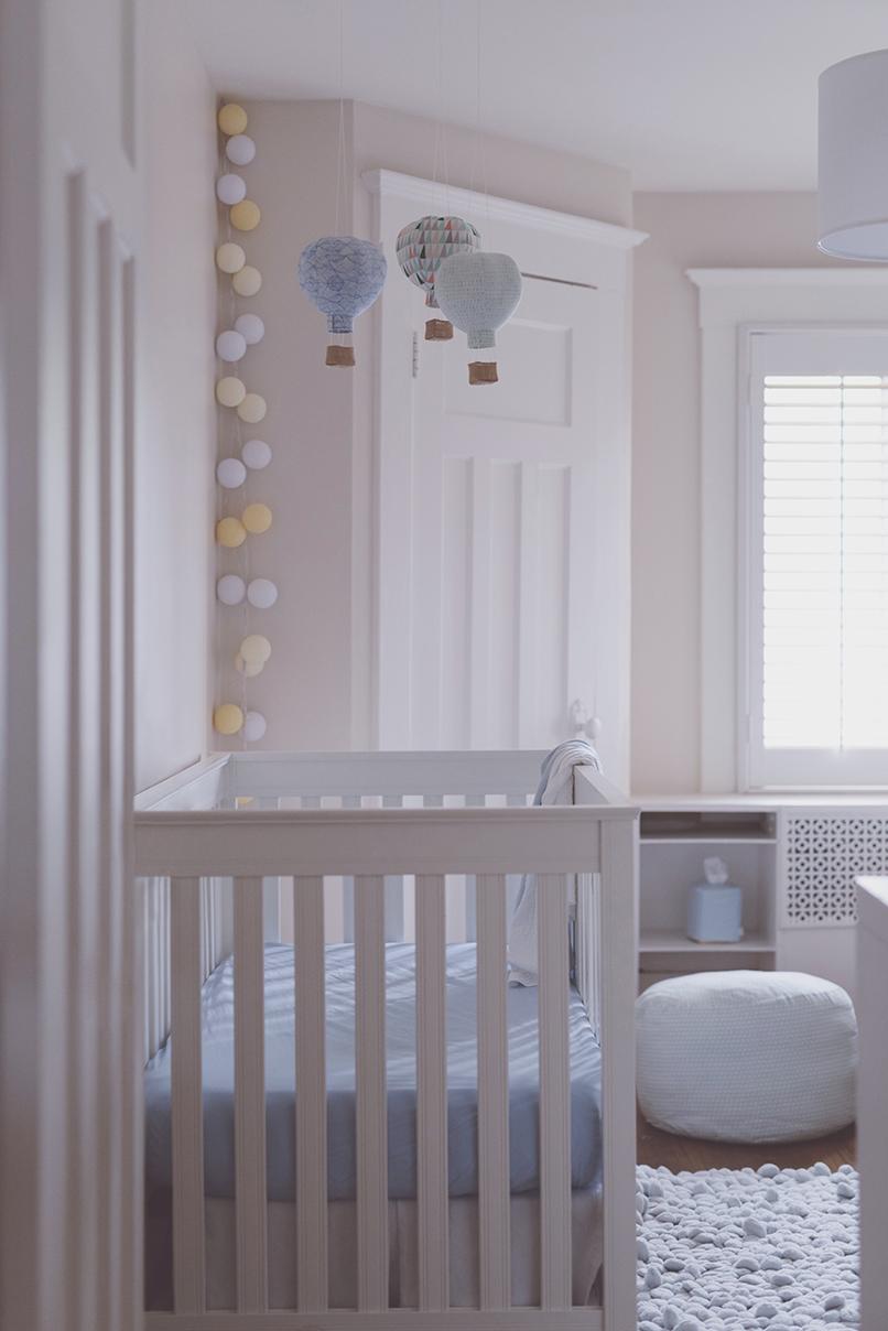 Péa les maisons. Baby nursery room inspiration