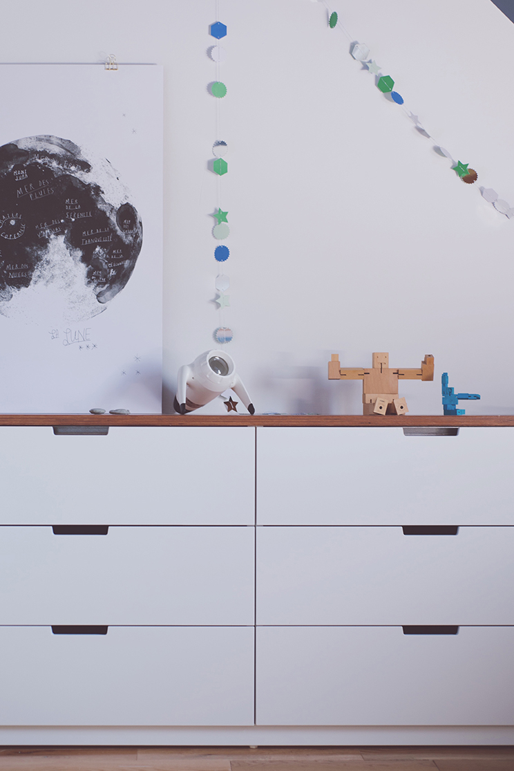 Péa les maisons. Décoration d'intérieur pour chambres d'enfant