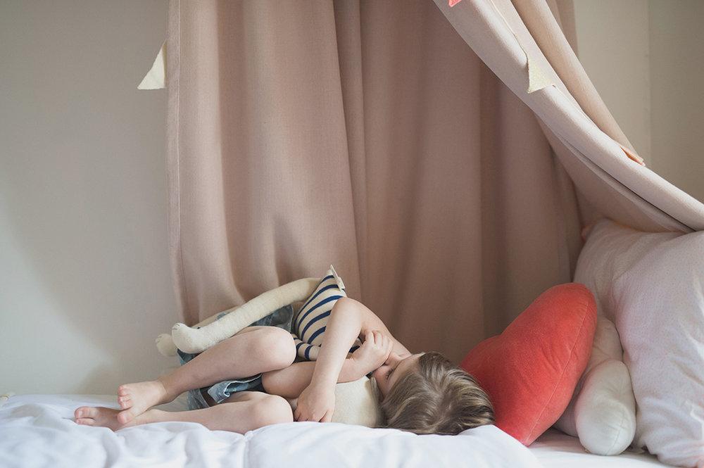 Péa les maisons. Partager sa chambre avec son frère et sa soeur mais avoir son petit cocon douillet