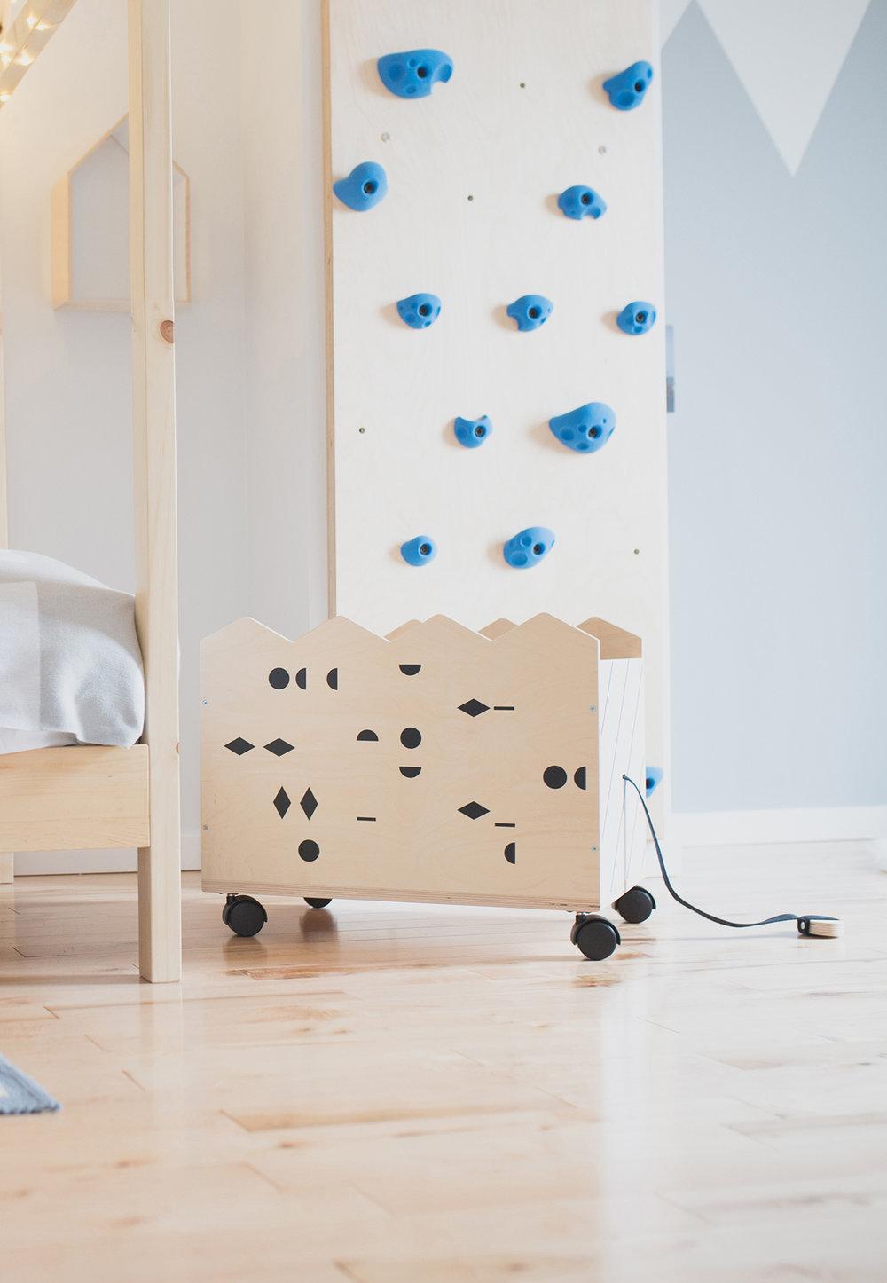 Péa les maisons. Des solutions de rangements pratiques et esthétiques pour les chambres d'enfants