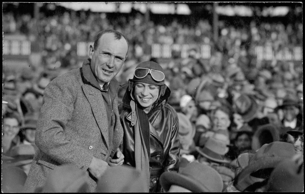 Bill Lancaster and Chubbie Miller Launceston 1928.jpg
