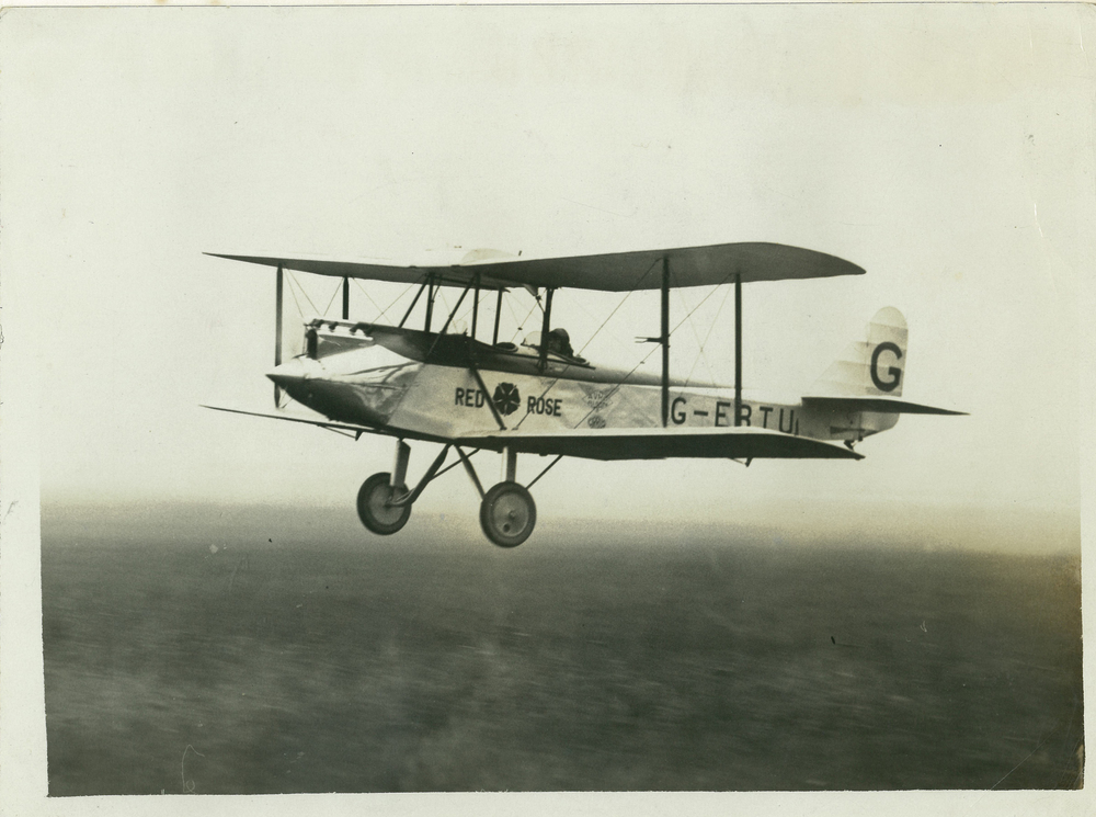 Red Rose Flying Bill Lancaster Croydon 1927.jpg