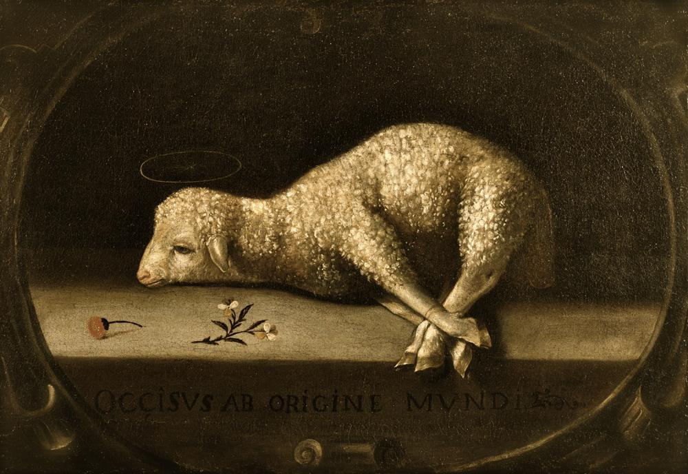 Agnus Dei (Lamb of God); Fransico de Zubaran, 1635-40