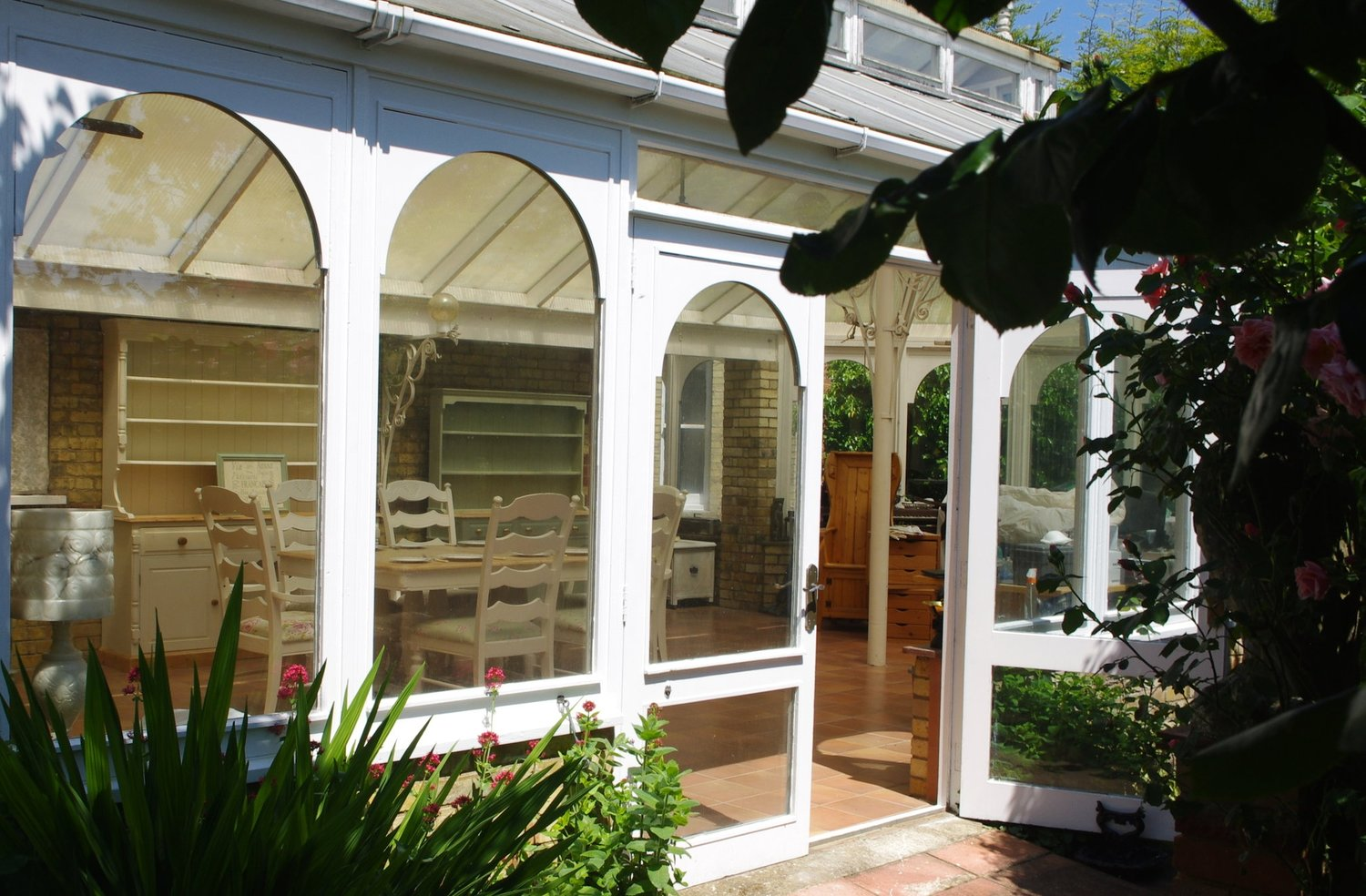 The Shabby Chic Conservatory