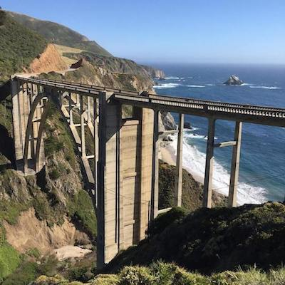 Highway 1 and the Bixby Bridge