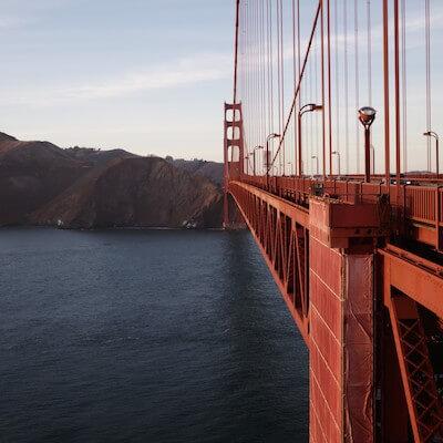 A walk over the Golden Gate Bridge