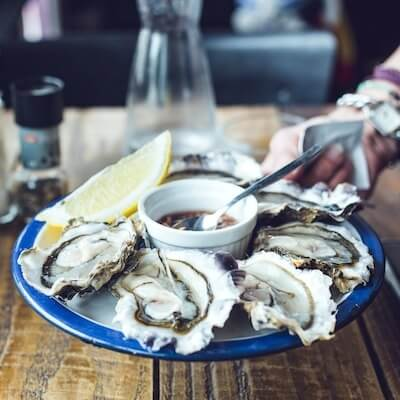 Fresh oysters await at Tomales Bay