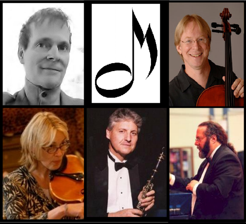 clockwise from upper left: John Summerlin, Steven Laven, Paul Rosenbloom, Rob Hayden, Susan Curran Culpo.