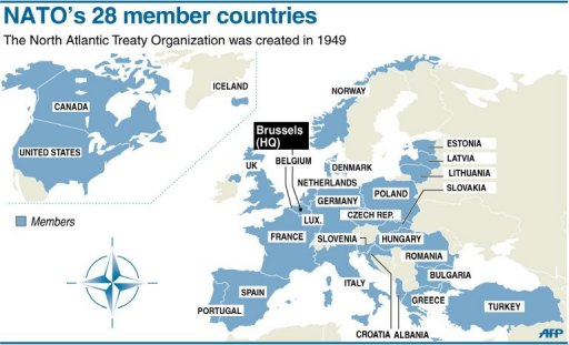 Should the us stay in nato curmudgeon coalition a map of the member states of nato gumiabroncs Choice Image