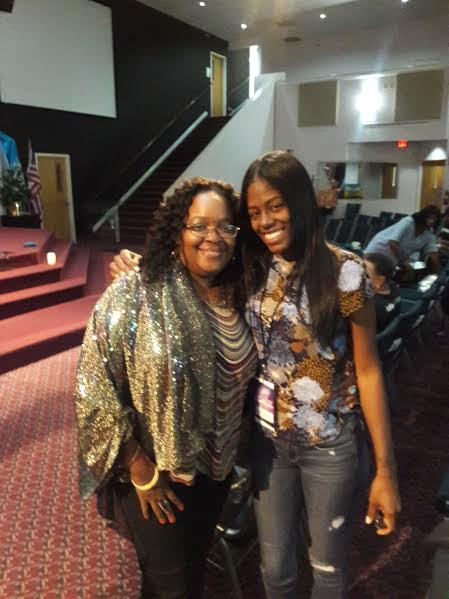 Pastor Joy Martin & Tiphani Montgomery
