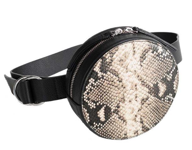 Snake Circle Belt Bag -