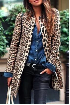 Leopard Coat -