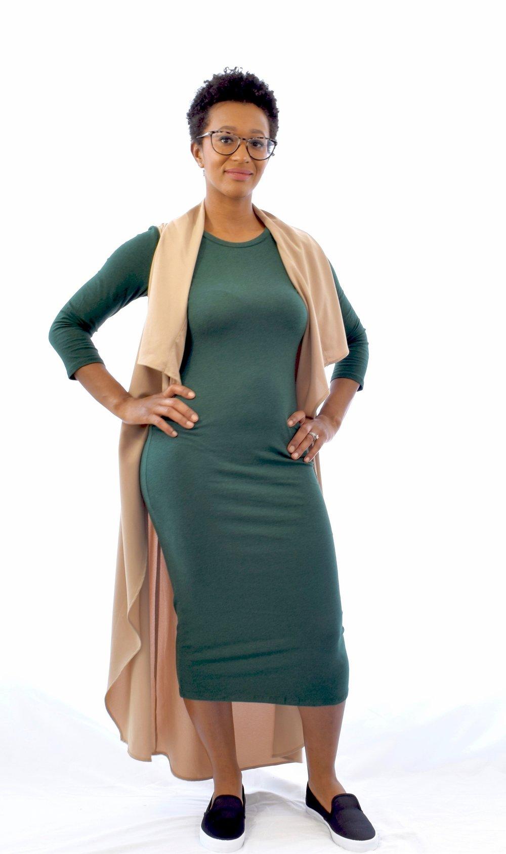 Green Midi Dress - $18