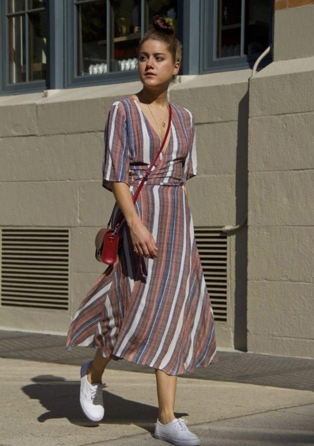 Wrap dress -