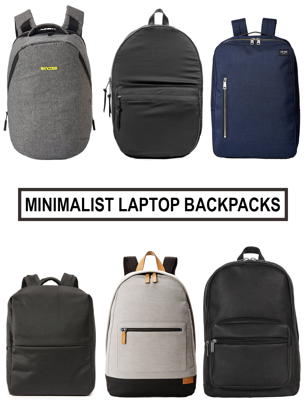 minimalist backpack buying guide   modern laptop backpacks for  - minimalist backpack buying guide   modern laptop backpacks for men