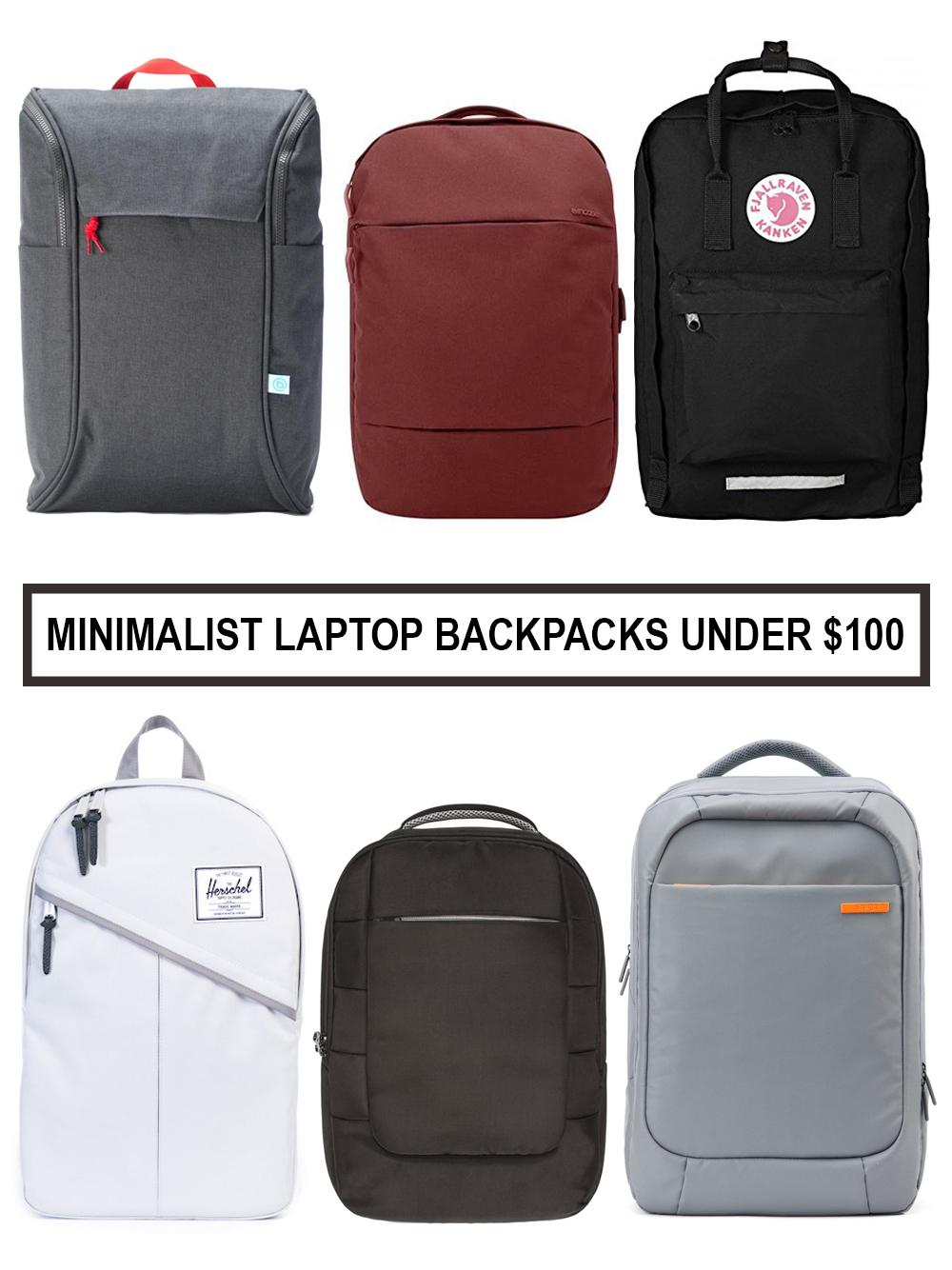 Top Picks for Minimalist Laptop Backpacks under $100 — Minimalist Guy