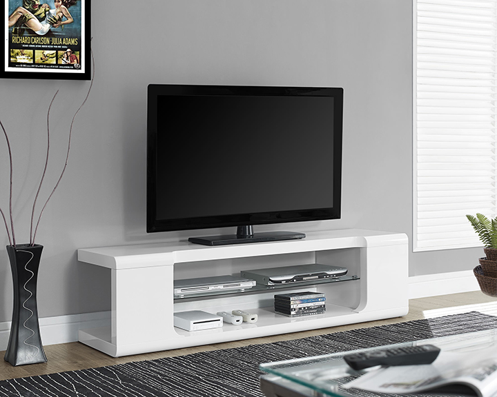 monarch specialties modern tv stand