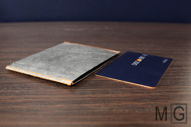 World's thinnest wallet? The Slimfold Micro is barely thicker than a credit card.