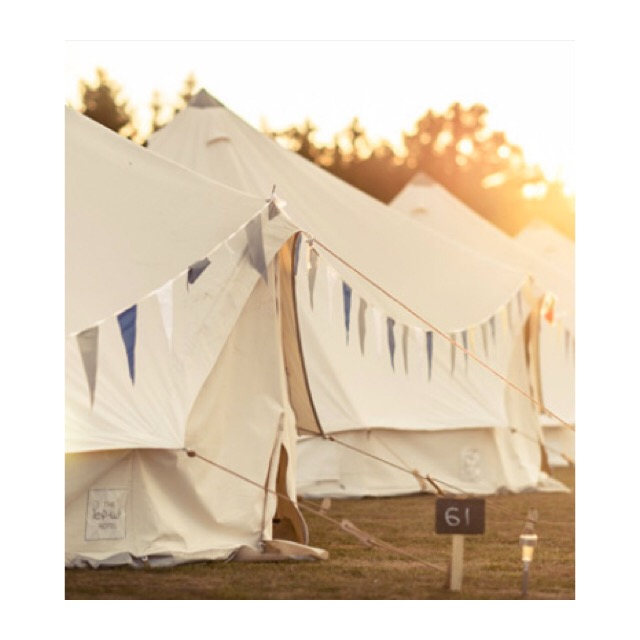 Classic bell tent. Unfurnished or furnished options. British built quality canvas bell tents for two to four guests (4.5 to 5M).