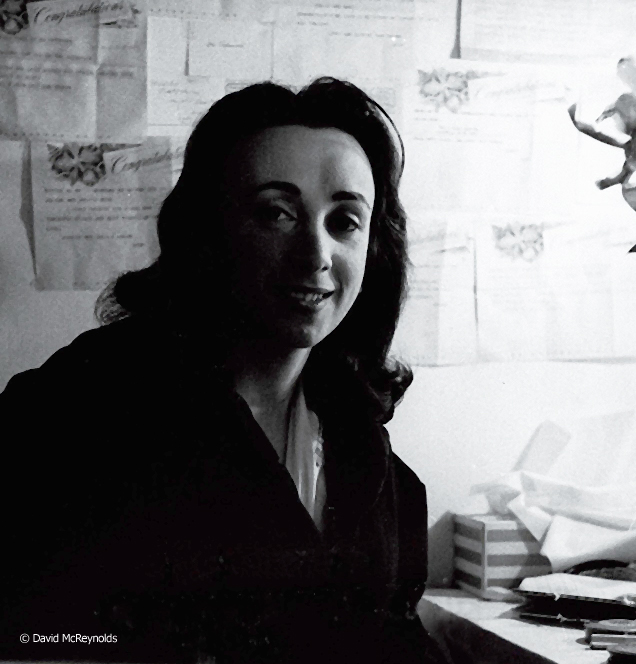 Judith Malina, The Living Theatre co-founder, 1959.