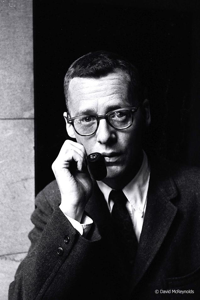 Murray Kempton, journalist. New York City, 1959.