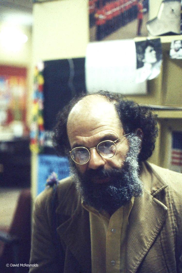 Allen Ginsberg, 1970s.
