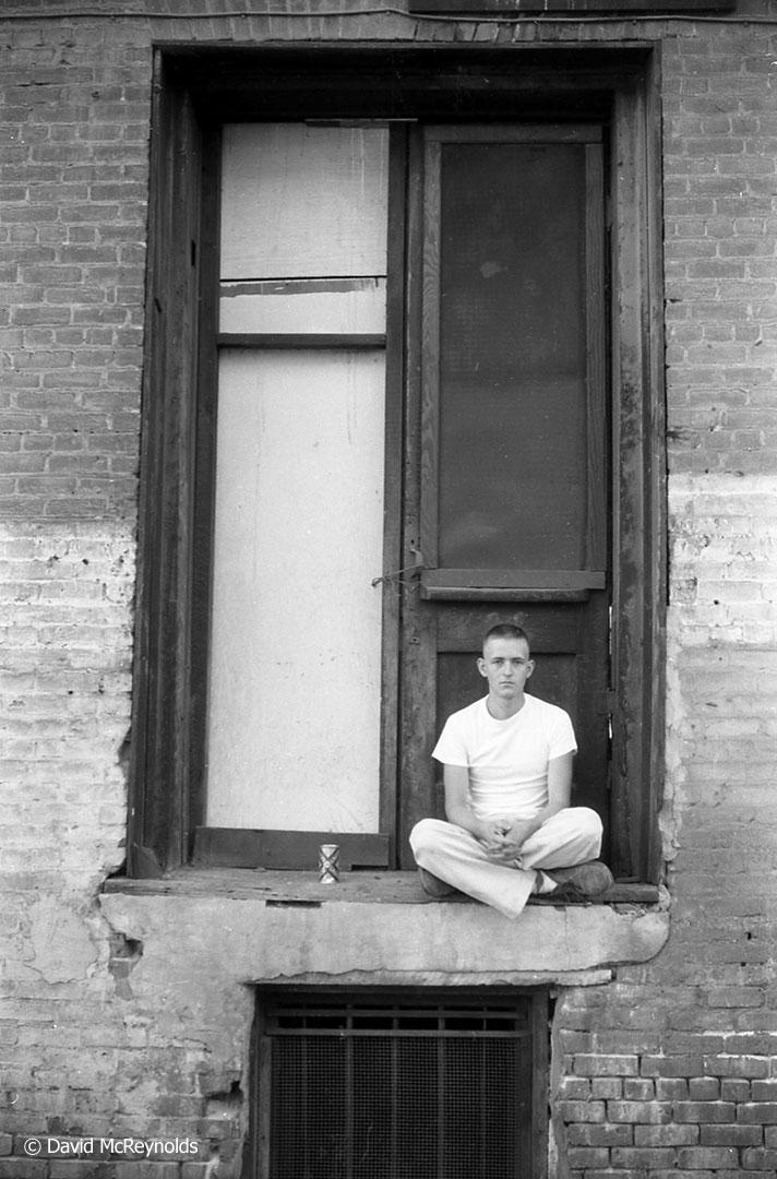 Doug Pomeroy, 1955.