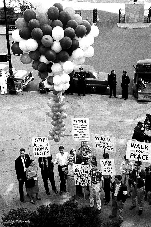 Student Peace Day, May 1958, United Nations, NYC.