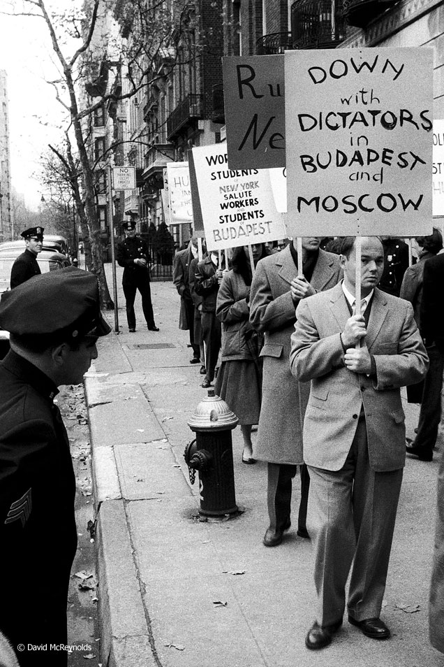 Mission of the USSR, New York City, November 3, 1956.