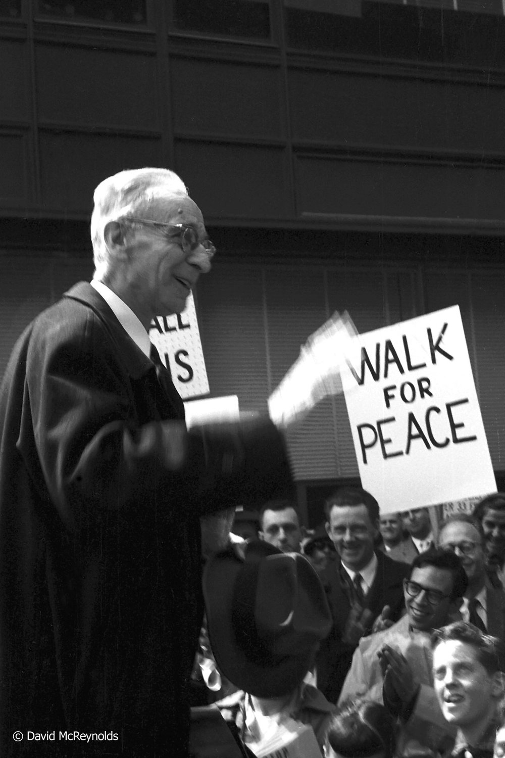 A.J. MUSTE, Walk for Peace, New York City, April 4, 1958.