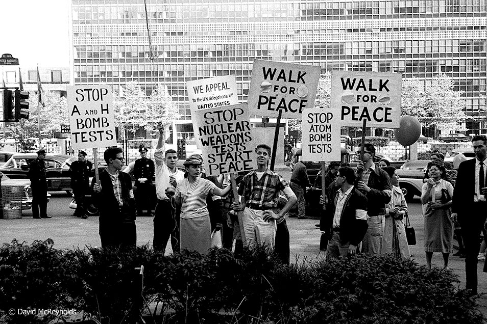 Student Peace Day, May 1958